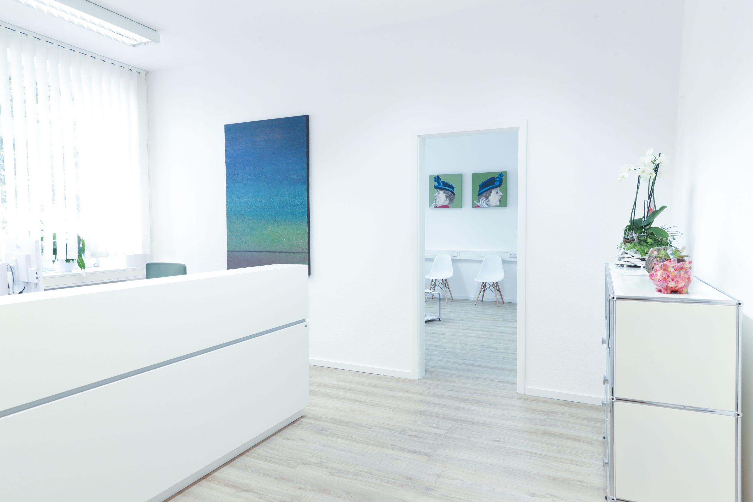Andrea Kremers Hausarztparaxis Empfang